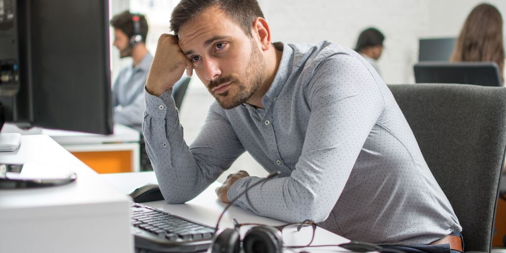 仕事の悩みのイメージ