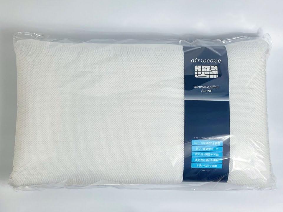 エアウィーヴ枕が袋に入っている状態